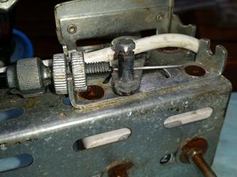 modification cable de commande coté poignée